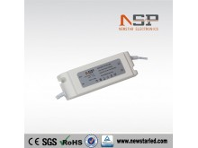 72W Constant voltage LED power supply plastic case